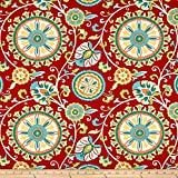 Covington Fabrics & Design Covington Indoor/Outdoor Moonbeam Fabric, Fiesta