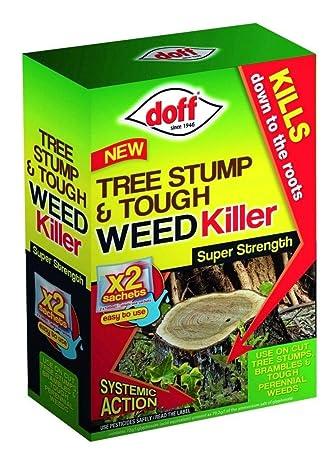 Doff - Eliminador de tocones y herbicida. Tratamiento superpotente para 132 metros cuadrados.