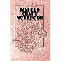 Makeup Chart Notebook: Make Up Artist Face Charts