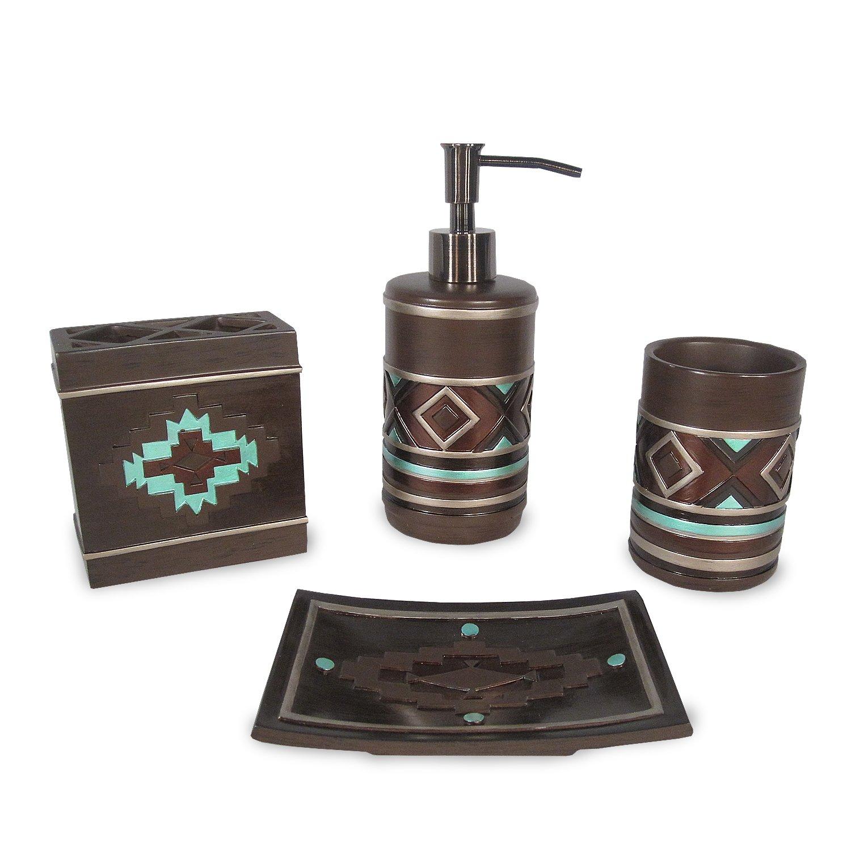 Amazon.com: Veratex Pueblo Collection Modern Contemporary Patterned ...