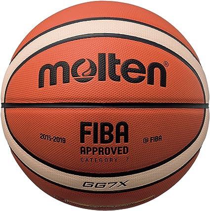 /de la Fiba bggx MOLTEN X-Series Compuesto Baloncesto,/ tama/ño Intermediate Size 6 Color Orange//Tan