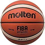 MOLTEN BGGX - Balón de Baloncesto Senior Naranja y Marrón Claro