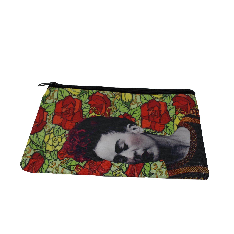 mitienda Funda Frida Kahlo con Rosas, Monedero, Billetera ...