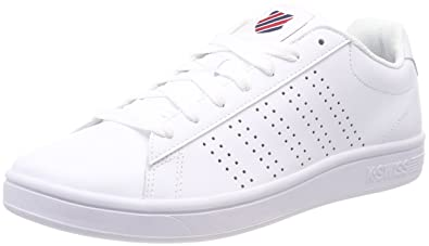 Mens Court Casper Trainers, White, 9 UK K-Swiss