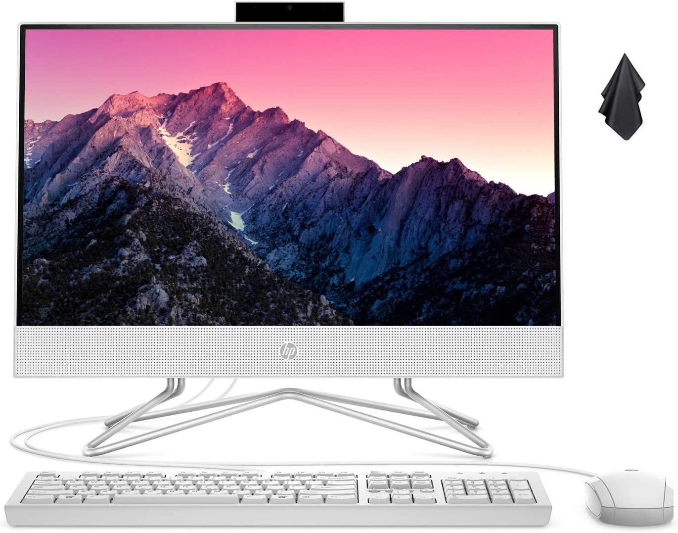 2021 Newest HP 22 All-in-One Desktop Computer, 21.5