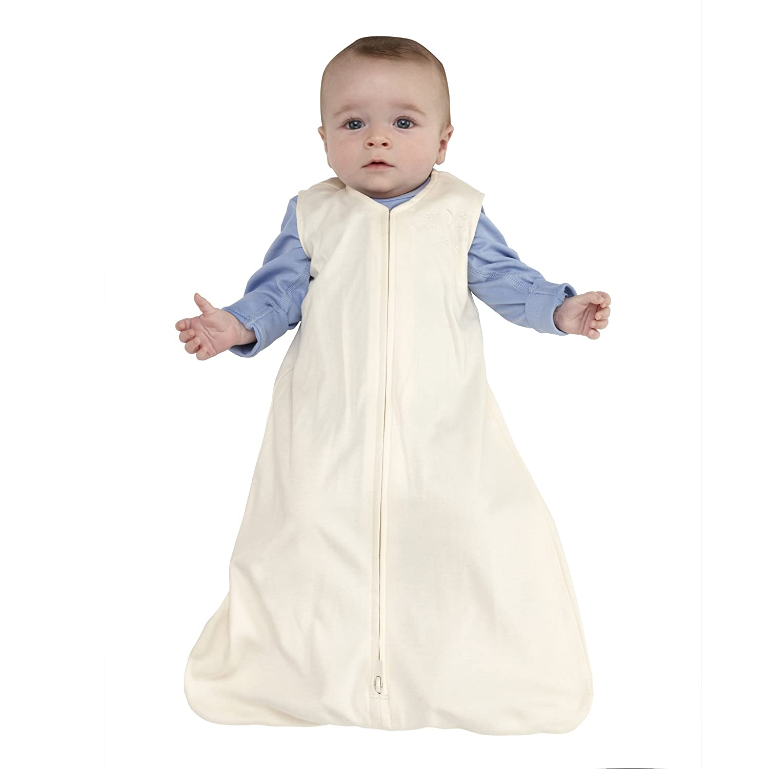 HALO SleepSack 100% Cotton Wearable Blanket, Cream, Large: Amazon.es: Bebé