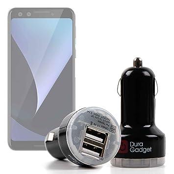 DURAGADGET Cargador Mechero del Coche para Smartphone Google Pixel ...