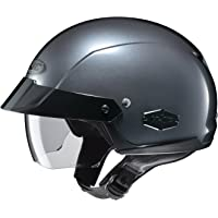 HJC IS-Cruiser Casco para motociclista de media carcasa, Antracita, Mediano