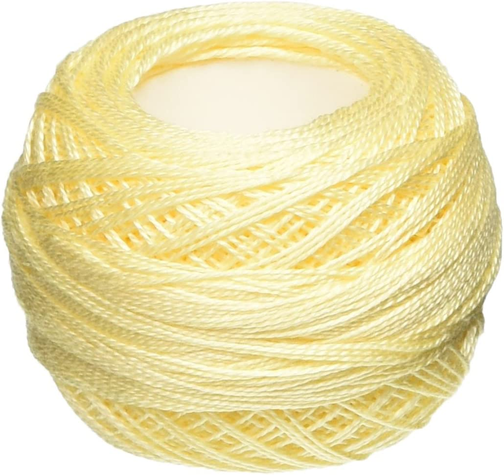 DMC 3823 palest yellow stranded floss embroidery thread brand new