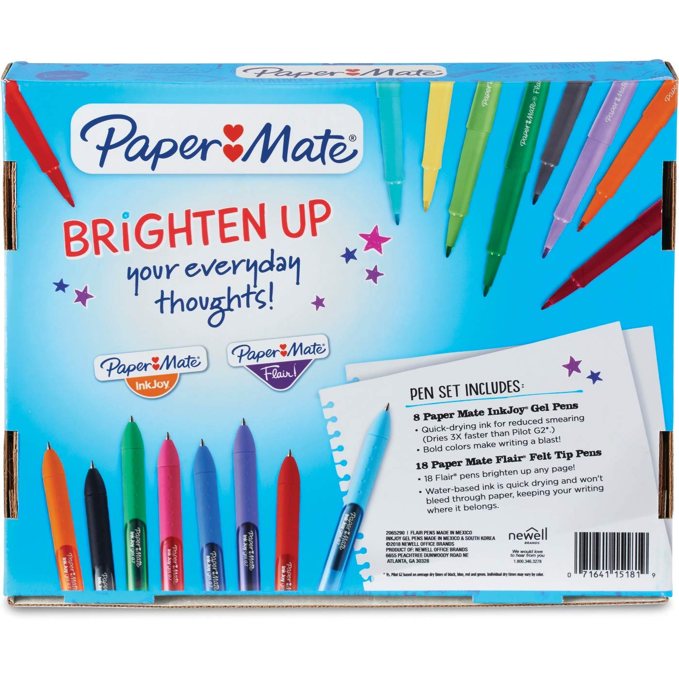 Paper Mate Rollerball Gel Pens 26ct - Multicolor by Paper Mate (Image #3)