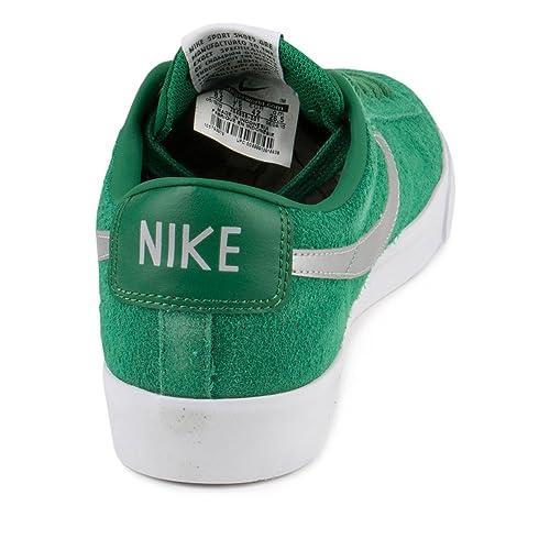 Amazon.com | NIKE Mens Blazer Low GT Pine Green/Metallic Silver-Wolf Grey  Leather | Fashion Sneakers