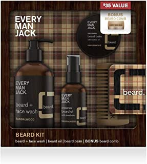 product image for Every Man Jack Beard Kit - Sandalwood