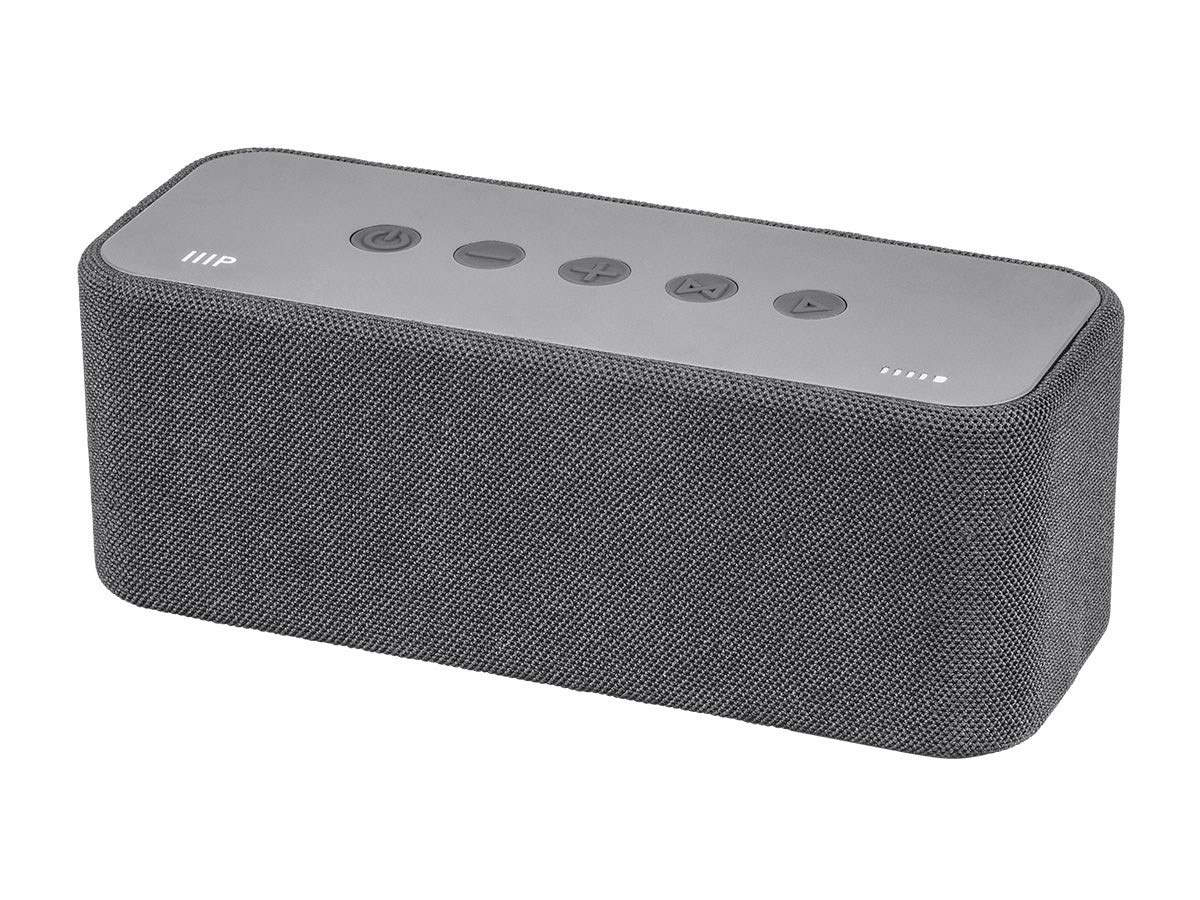 Monoprice Harmony XL Bluetooth Wireless Speaker - Grey | 30 Watts, Up to 15 Hours of Playback, Portable, On The go