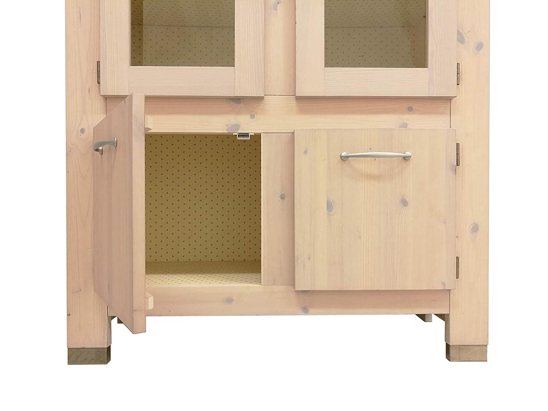 Credenza Con Vetrina Moderna : Silvam credenza vetrina 4 ante moderna cucina soggiorno legno