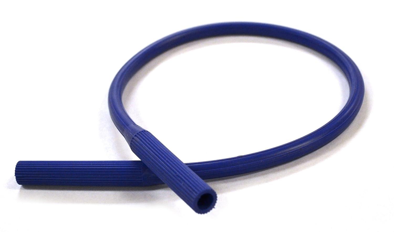 """Eisco Labs Neoprene Bunsen Burner Hose, 2 ft (.6m) - Tube ID 1/4"""", OD 7/16"""""""