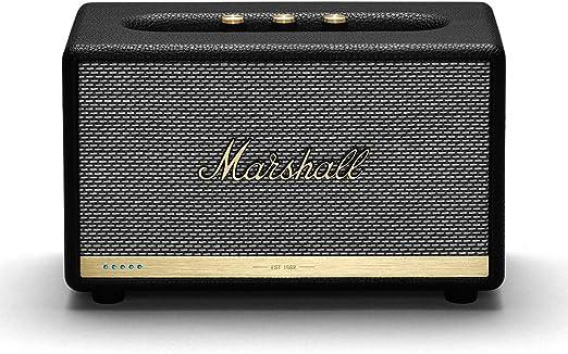 Marshall Acton II Wireless Wi-Fi Multi-Room Smart Speaker with Amazon Alexa Built-In,