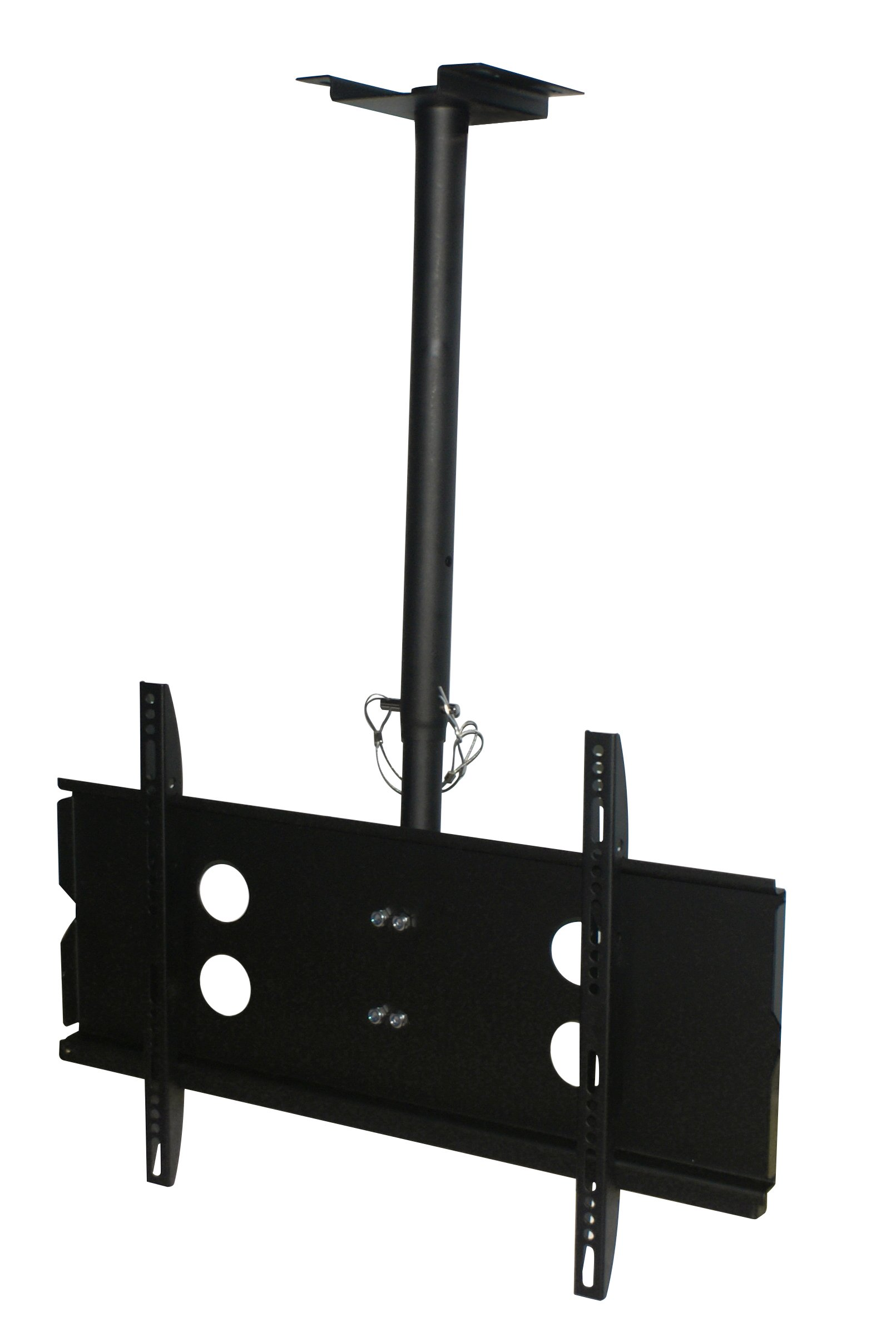 XtremPro Full Motion Ceiling TV Mount, Tilt 0 to -20° Down, 360° Swivel for Most 40''-65'' Inch LCD, LED, 4K or Plasma TVs, VESA Up to 600 X 400, 165lbs Capacity Max- Black (41029) by XtremPro