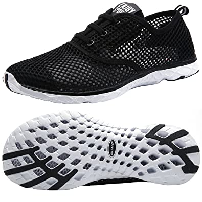 Women's Quick Drying Water Shoes Breathable Mesh Upper Big Size