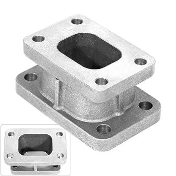 T25/T28 para T3/T4 conversor adaptador de conversión Turbo colector de escape Brida Cast: Amazon.es: Coche y moto
