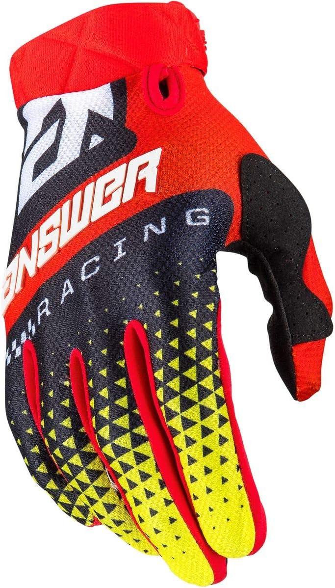 Hyper Blue//RED Answer 2020 AR3 Gloves Korza Medium
