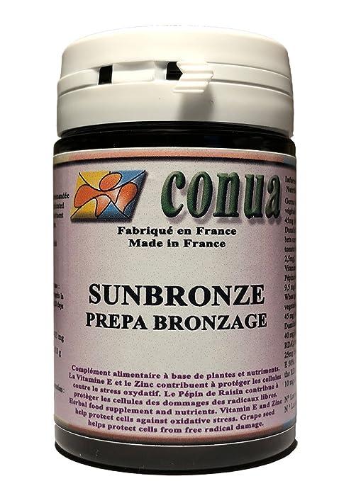 Betacaroteno natural para preparar, activar y prolongar de manera efectiva el bronceado mientras se preserva