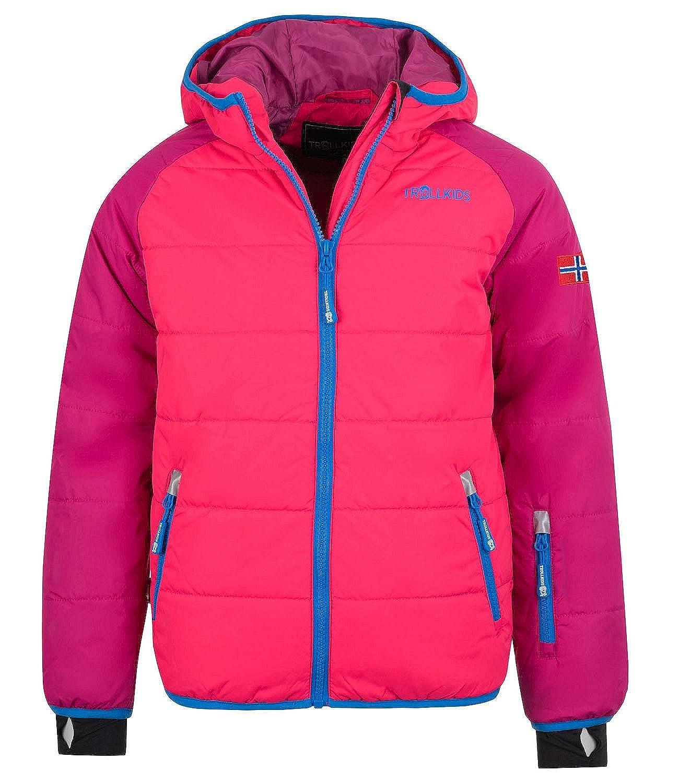 Dunkelrose   Hellrose   bleu 16 ans TrollEnfants Hafjell Veste de ski pour enfant