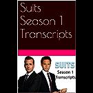 Suits Season 1 Transcripts (English Edition)