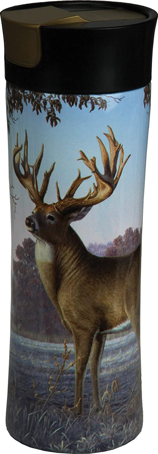 Rivers Edge Products Deer 16 oz. Travel Mug River' s Edge Products 2125