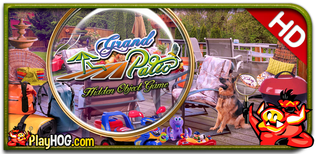 Grand Patio - Find Hidden Object Game [Download] (Patios Grand)