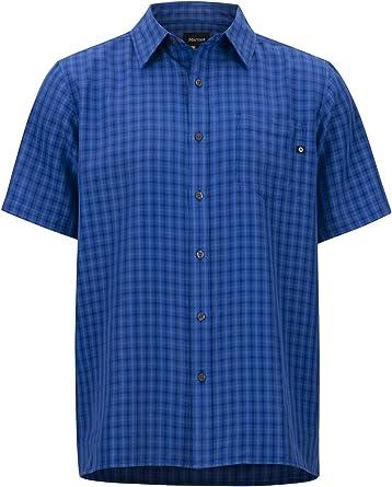 Marmot Eldridge Short Sleeve Camisa Manga Corta, de Senderismo, al Aire Libre, con protección UV, Transpirable, Hombre: Amazon.es: Ropa y accesorios