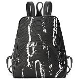 Kadell Women Leather Backpack Purse Shoulder Bags Knapsack Travel Bag Satchel