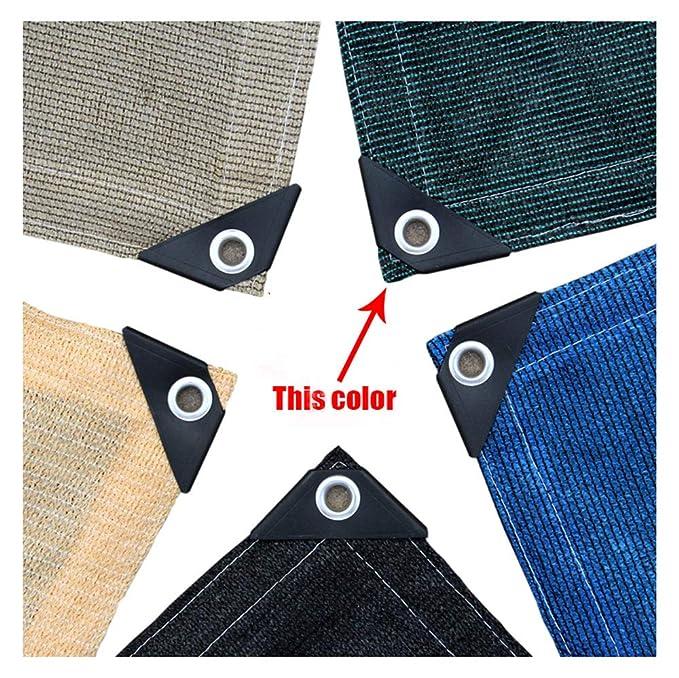 toldos de tela de lona adecuados para privacidad resistente a los rayos UV múltiples tamaños pueden e malla protectora solar protección solar Lona alquitranada Red de protección toldos toldos
