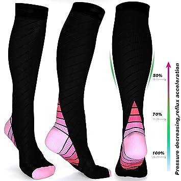 Men's Clothing Mymyu Unisex Compression Socks Athletic Outdoor Sports Socks For Men Women