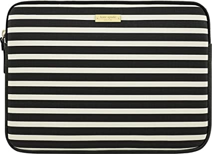 best website ce35a 29239 Kate Spade New York Zip Sleeve for Microsoft Surface Pro 3 and Surface Pro  4 - Black/Cream