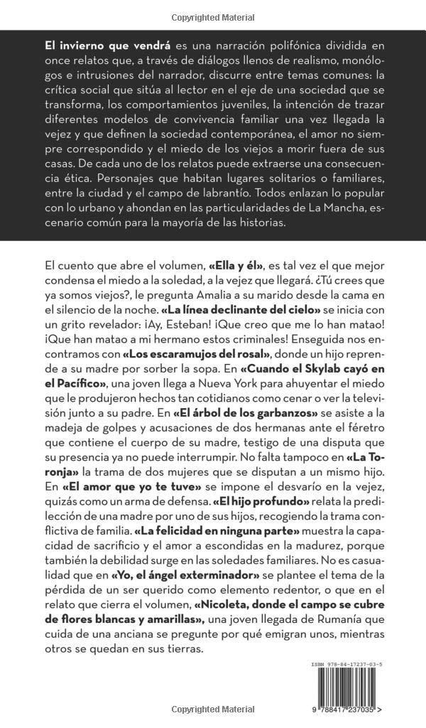 El invierno que vendrá (Spanish Edition): Jesús Manrique: 9788417237035: Amazon.com: Books