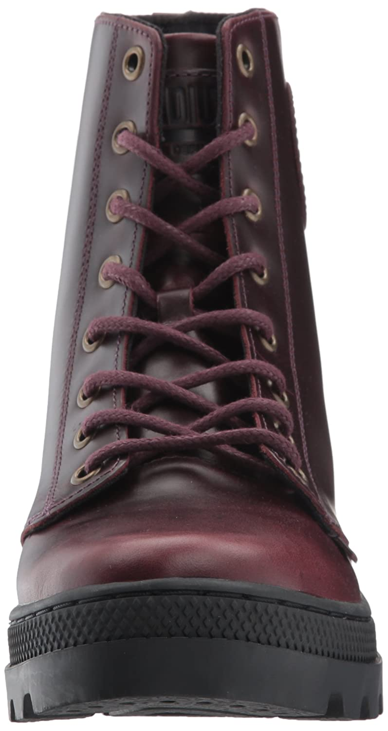 Palladium Chukka Women's Pallabosse Off Lea Chukka Palladium Boot B01MYEIVG2 8.5 B(M) US|Regal/Black b108fd