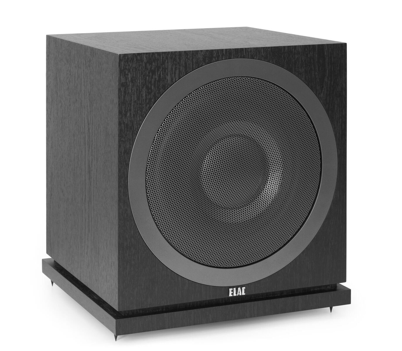 ELAC Debut 2.0 SUB3010 400 Watt Powered Subwoofer, Black