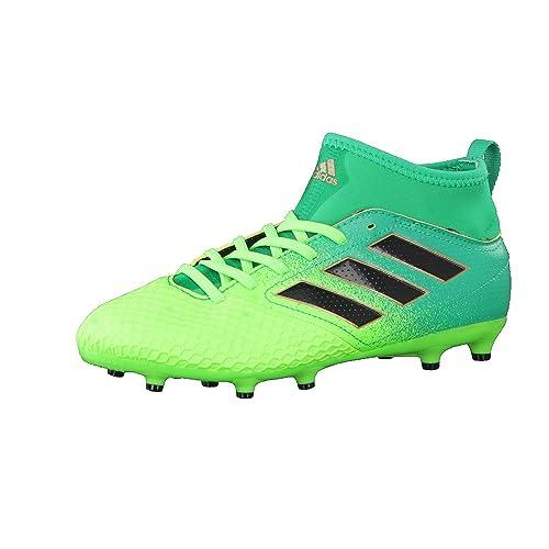 sports shoes 768e8 68b5a adidas Ace 17.3 Fg J, Scarpe per Allenamento Calcio Unisex – Bambini, Verde  (
