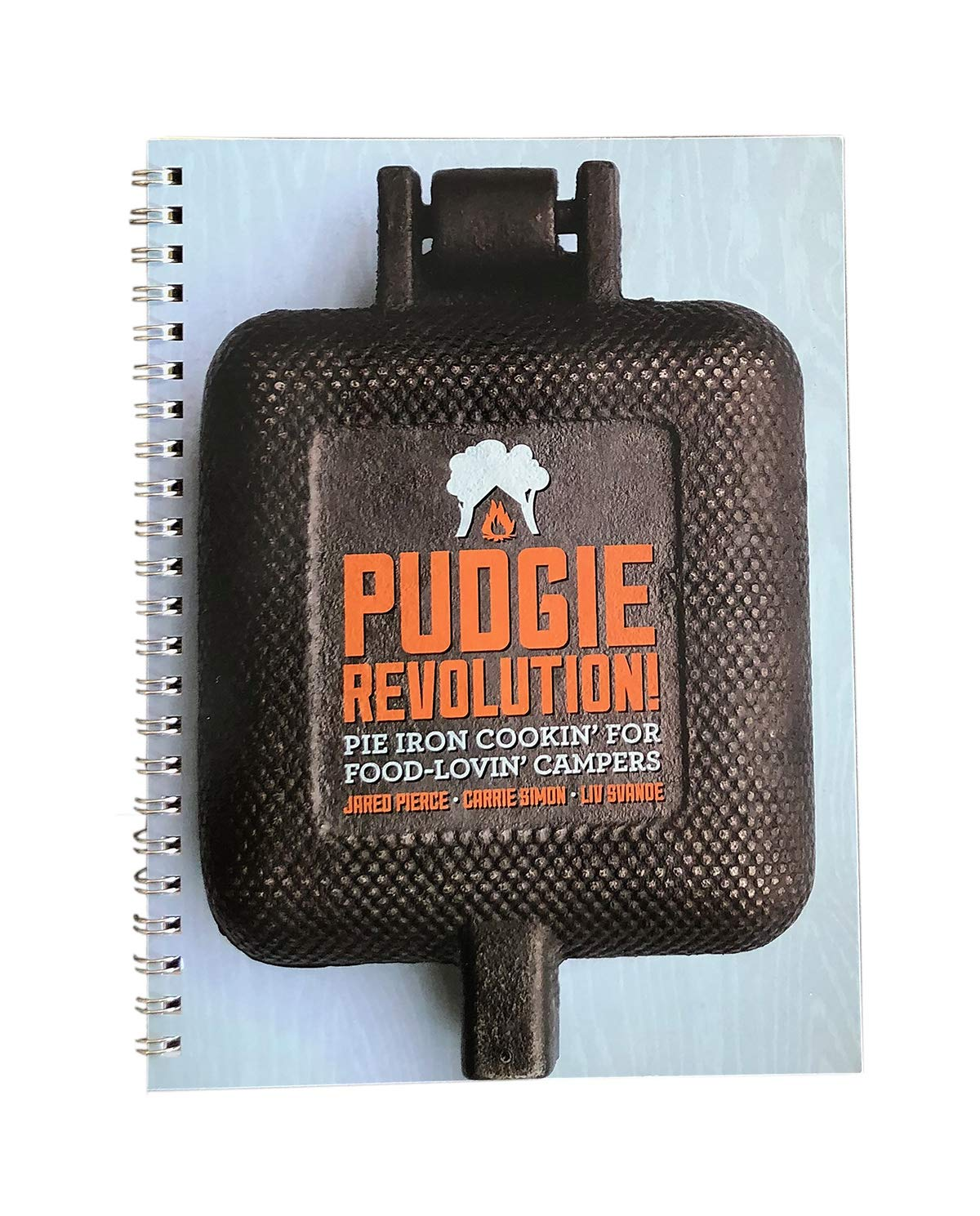 Rome Industries 2009 Pudgie Revolution Spiral Bound Pie Iron Cookbook, Color