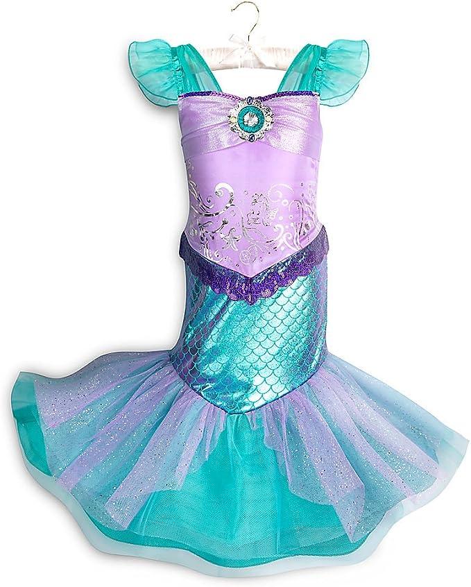 Amazon.com: Disfraz de Ariel de Disney para niños ...