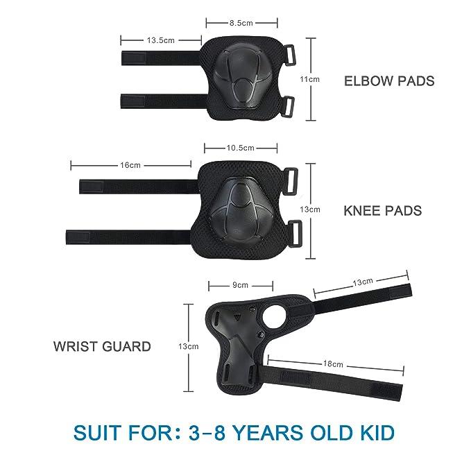 Amazon.com: Skybulls - Rodilleras para niños, coderas y ...
