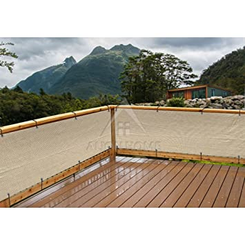 Amazing Alion Home Elegant Privacy Screen Mesh Windscreen For Backyard Deck, Patio,  Balcony, Pool