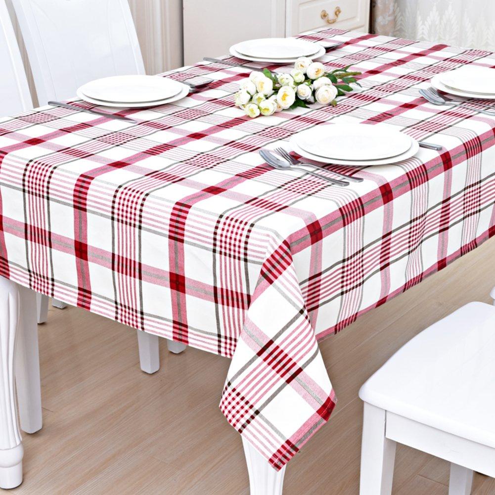 DTGERNJGFD Tischdecken Tischsets TV-Schrank Tuch Tischdecken Tuch Tischdecke Decke Decke Decke pastoralen Stil Tischdecke Cotton Tuch Restaurant-K 120x170cm(47x67inch) 1ff4f8