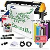 GCC Professional Expert II LX Vinyl Cutter 24 Inch Wide Creative Bundle with Stand & Aligning System for Contour Cutting