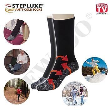 Step Luxe® - Cold Socks Calcetines Térmicos con Fibra De Aluminio - Original de TV de Publicidad: Amazon.es: Deportes y aire libre