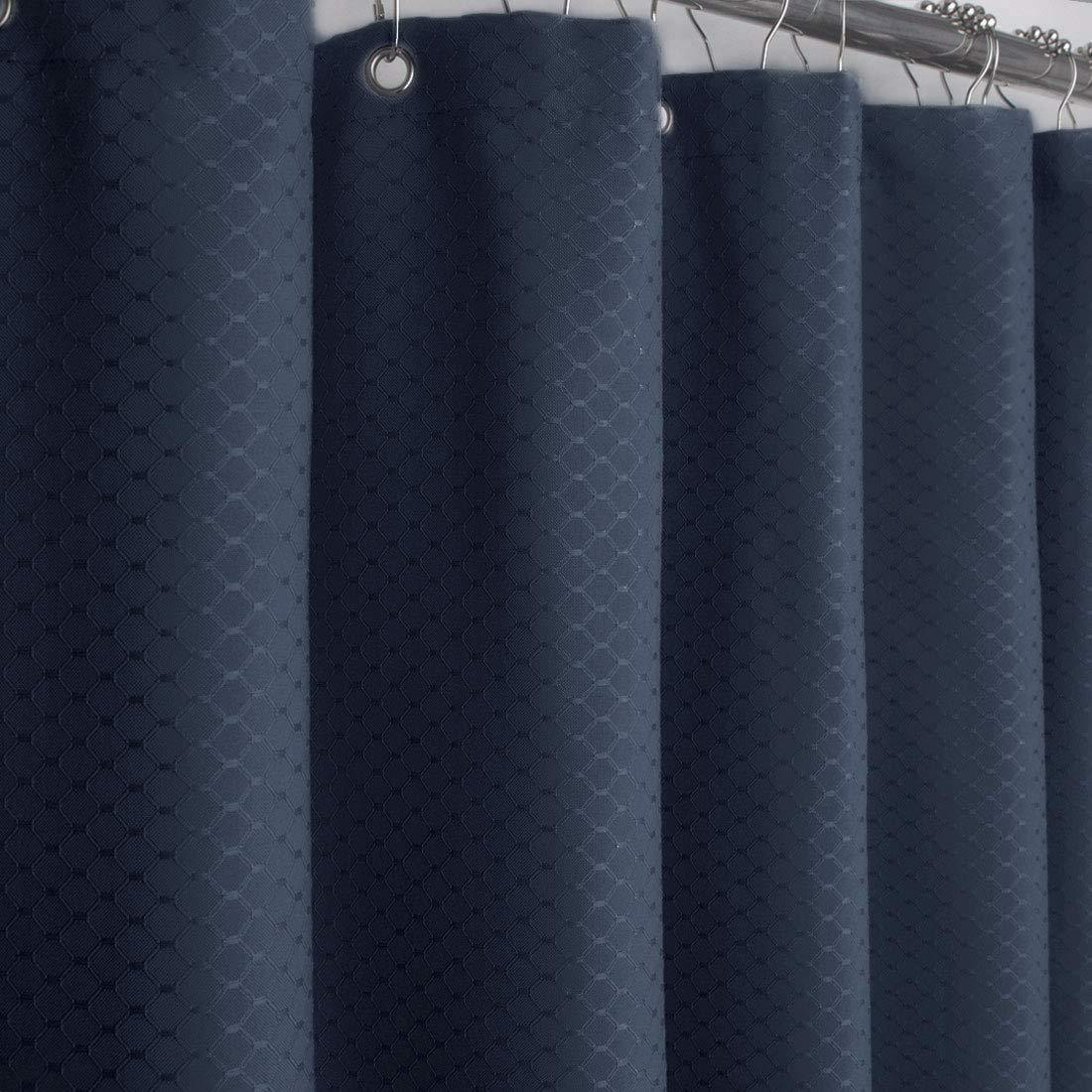 Amazon.com: Eforgift Waffle tela cortina de ducha tela de ...