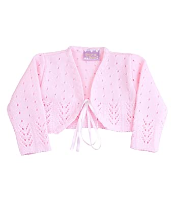 a40968be3 Amazon.com  BabyPrem Baby Cardigan Bolero Girls Clothes White Pink ...