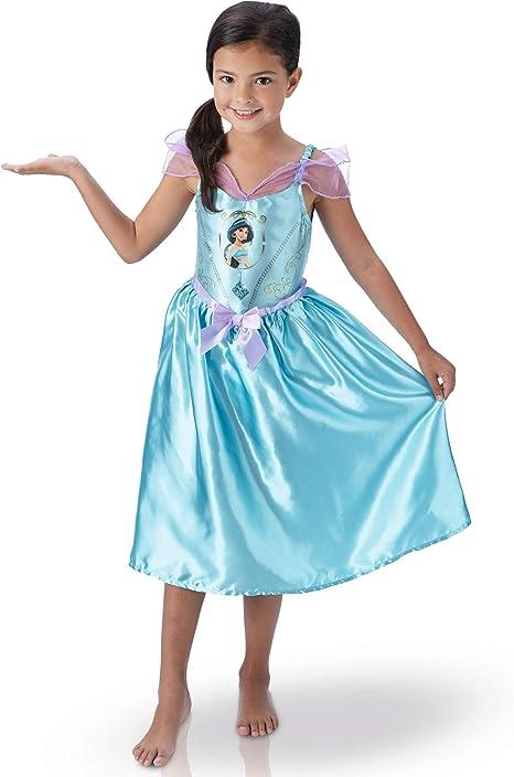 Disney – i-620646s – Disfraz clásico Fairy Tale Jasmine: Amazon.es ...