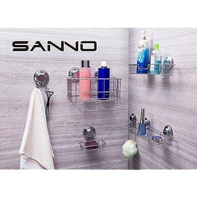 Sponge holder plastic clear no slip soap  bar shower bathroom sink suction cup