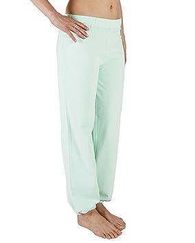 Chin Mudra Pantalón de Yoga - 95% algodón Bio y 5% de Lycra ...
